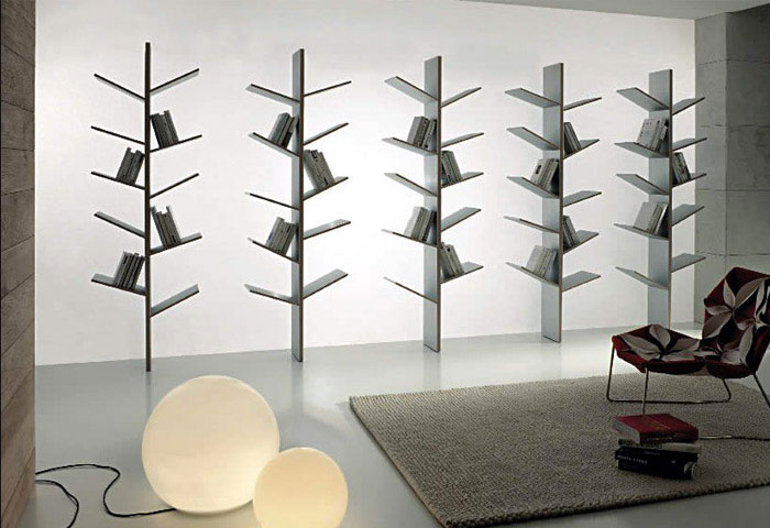 Modern Bookshelves Inspired by the Nature  bookshelves fargus