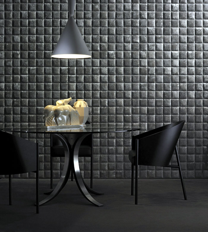 Studioart dressed the walls geometries patterns wallcoverings