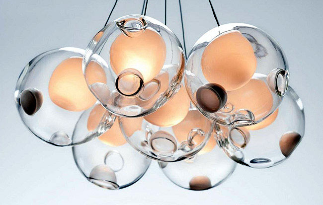 Spherical Shape Lamps glass blowing lamp