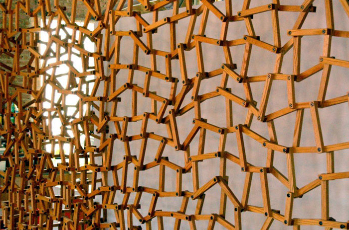 Matt Gagnon Design Studio sculptural wall