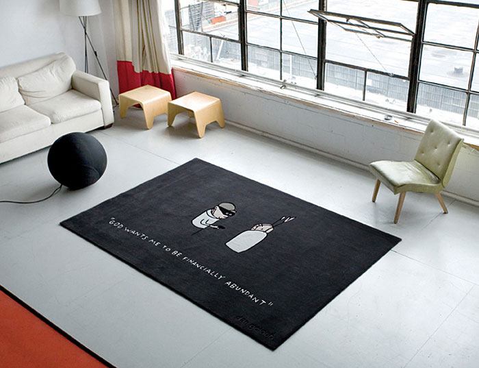 Cartoon Carpets Interiorzine