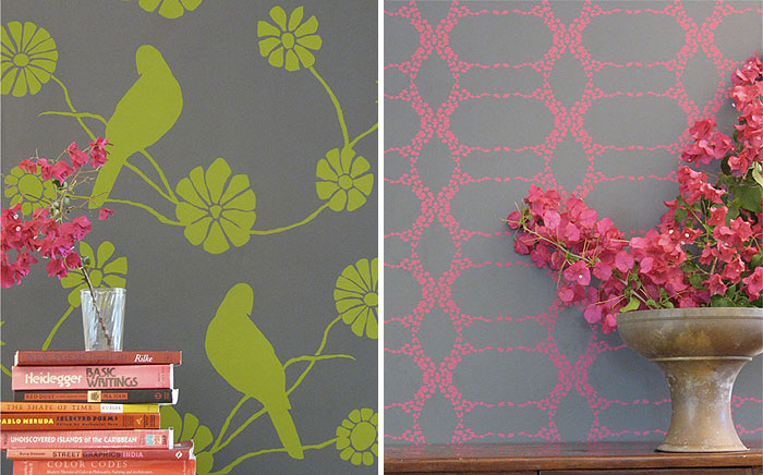 Eco Friendly Wallpaper by Madison and Grow elizabeth contemporary wallpaper