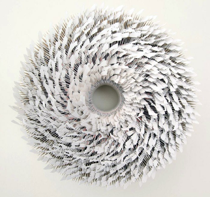Sculptures Made from Paper by Mia Liu paper art
