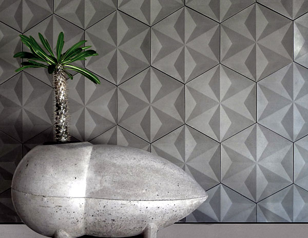 Concrete Tiles by Daniel Ogassian jap geo3 concrete tiles