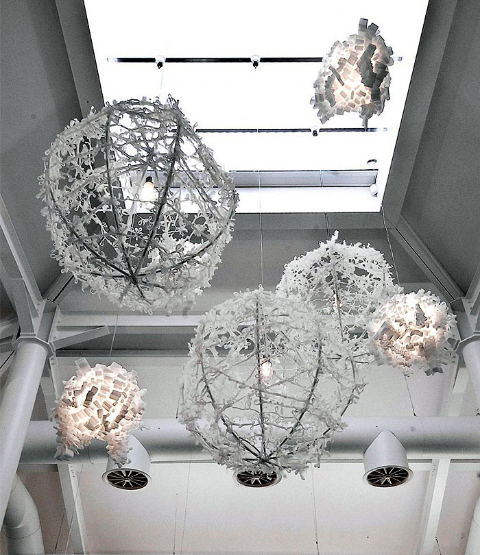 Decorative Lighting  modern textile lighting