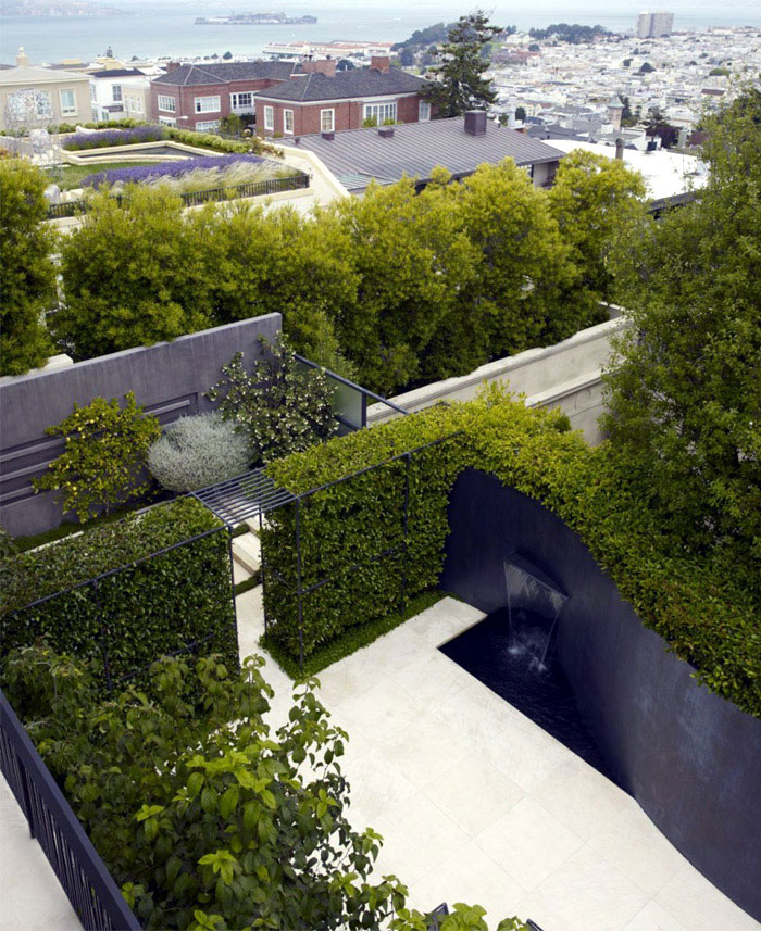 Urban Residential Garden outdoor architecture