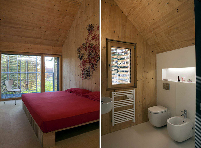 Karawitz Architecture's Modern French Passivhaus Design interior bedroom