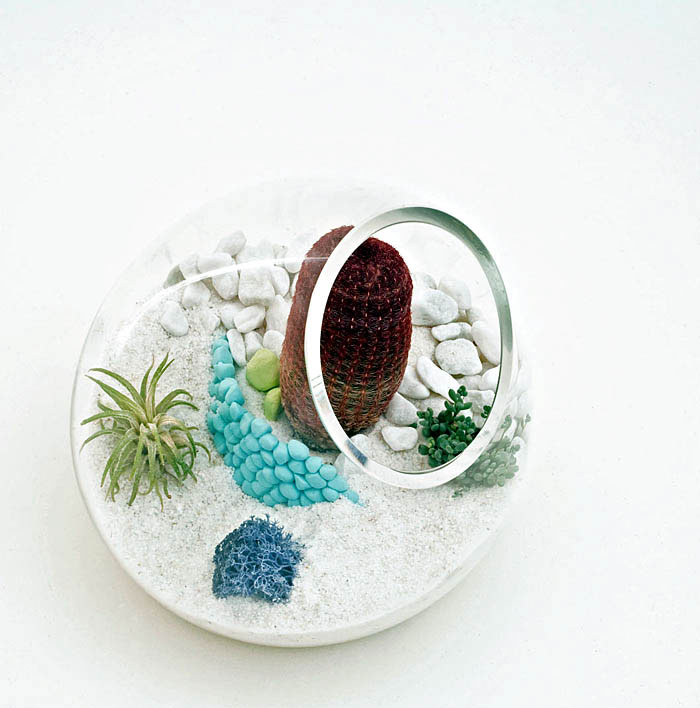 LÍtill Terrariums Tiny, Living Sculpture mjog living sculptures
