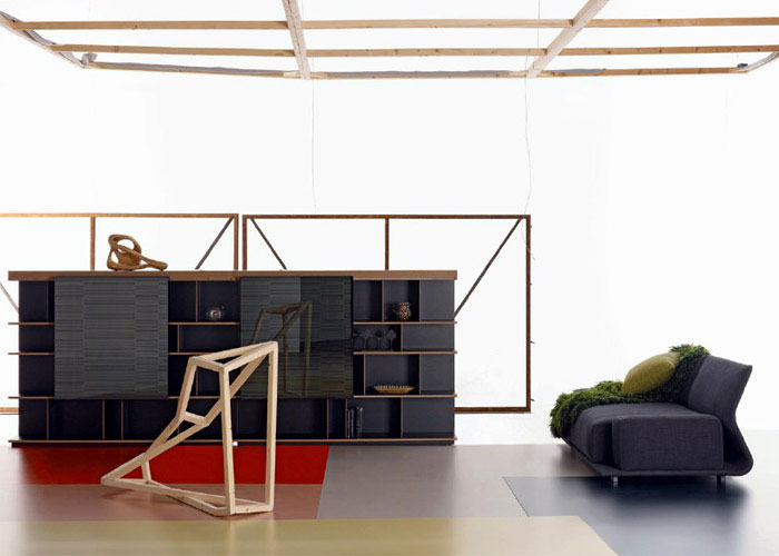 Night &amp; Day by Patricia Urquiola   modern furniture sequence