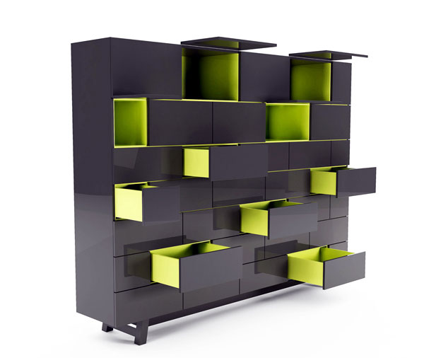 Brick and Rocky Collection by Joel Escalona brick furniture collection