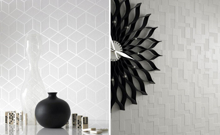 Shape and Form collections classic design wallpaper pattern