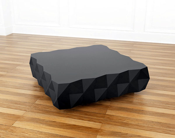 Brick and Rocky Collection by Joel Escalona coffee table livingroom