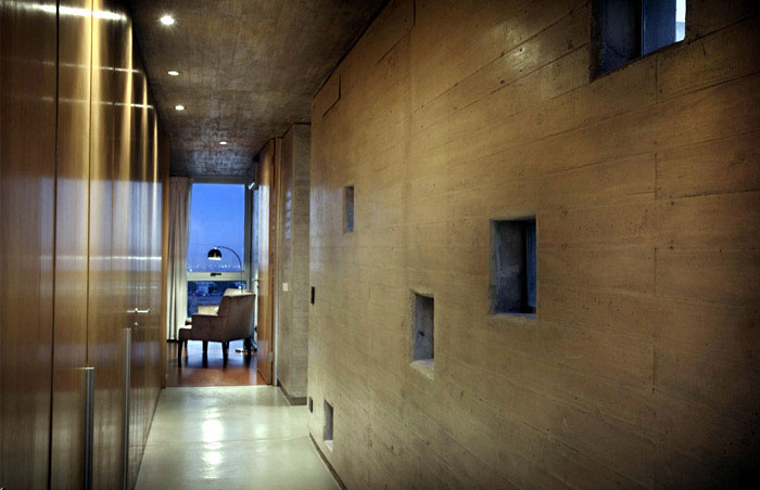 Stylish Home by A4estudio concrete house1