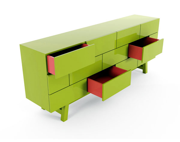 Brick and Rocky Collection by Joel Escalona furniture design brick collection
