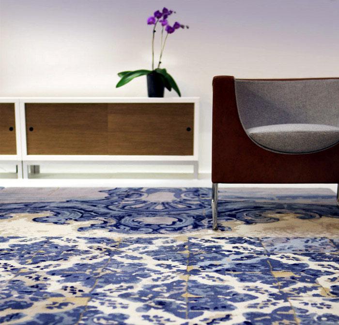 Floors of Tiles Rug stua rug milano