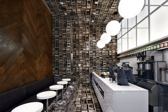 D'espresso Cafe Interior D'espresso cafe interior