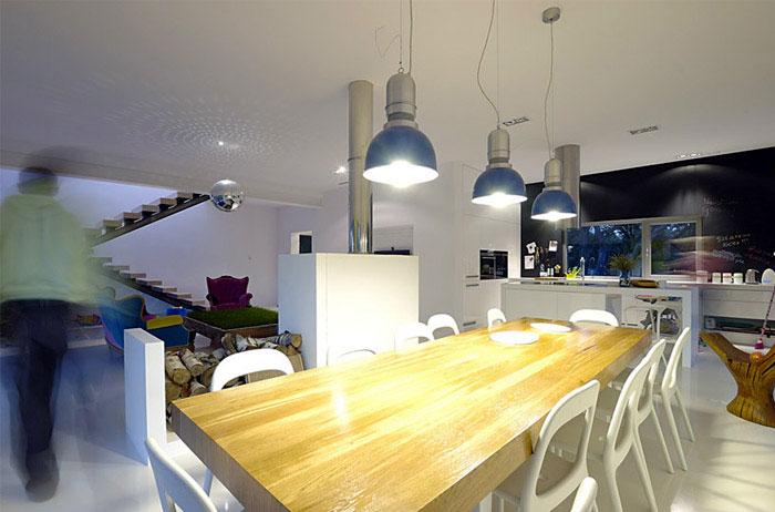 Modern House Near Poznan kitchen interior design