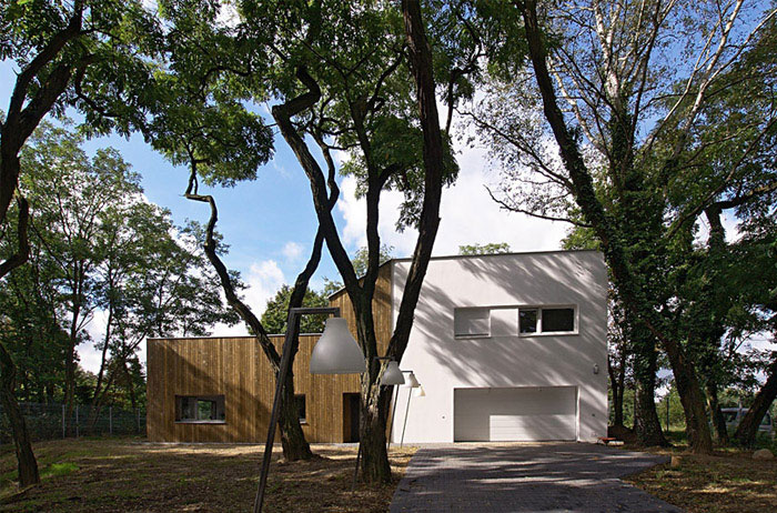 Modern House Near Poznan modern house near pozan