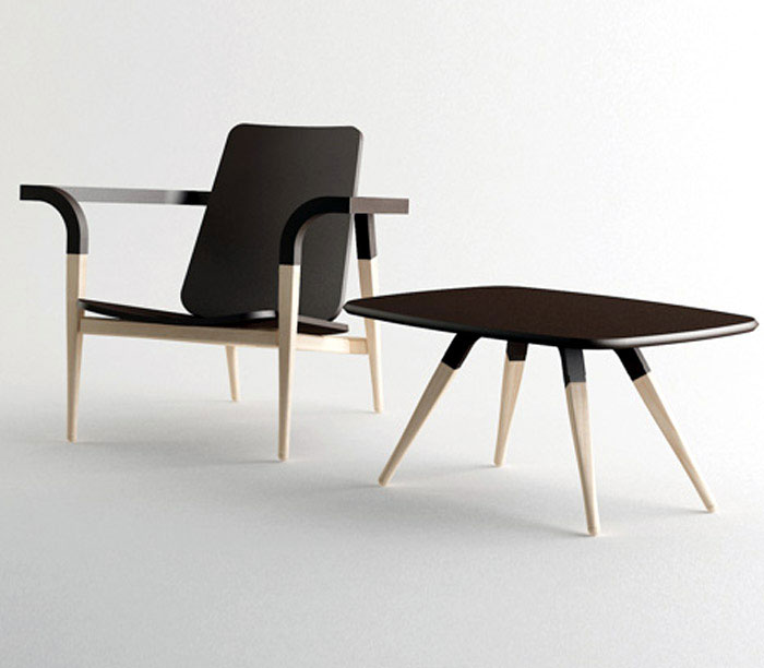 Modernatique chair hyung suk cho design