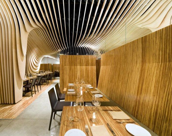 BanQ by Office dA interior decorating banq restaurant