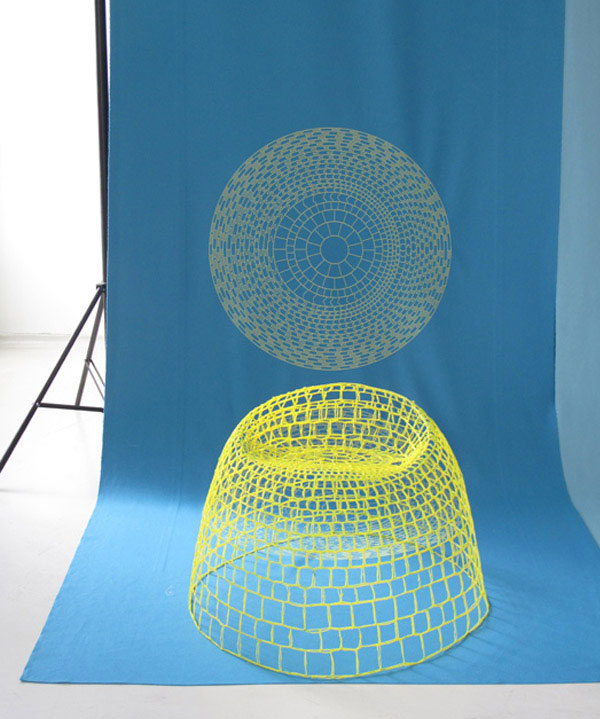 NETwork by Studio Aisslinger network armchair