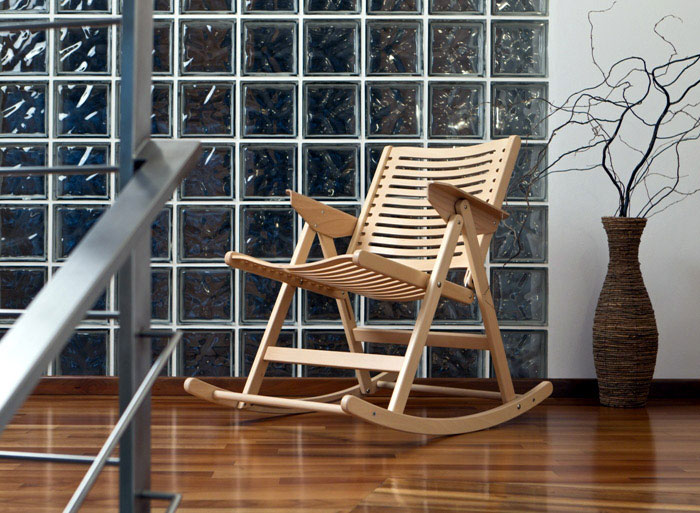 Rex program designed by Niko Kralj under brand name Rex Kralj rex rocking chair