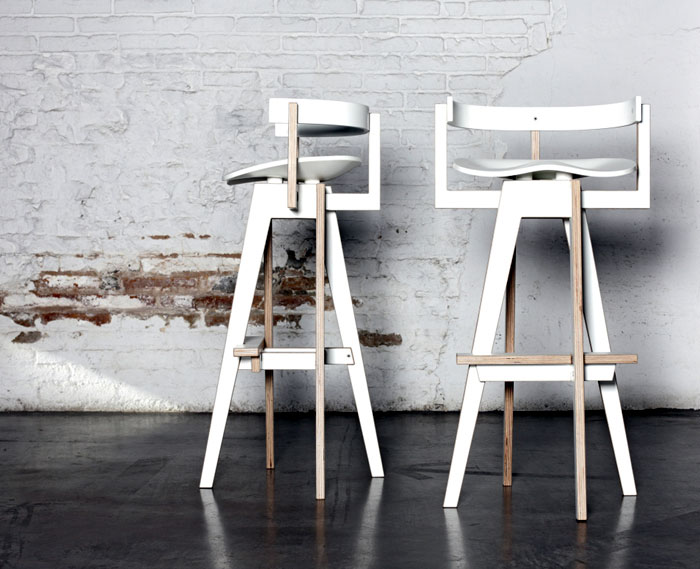 Mediodesign at in the room D3 Design Talents bar stool mediodesign