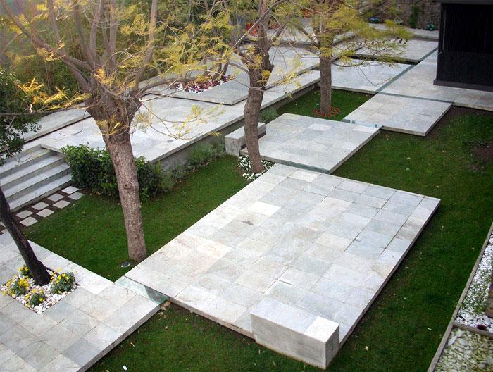 Pavilion and garden at Montjuic Barcelona fondarius architecture montjuic garden barcelona 3