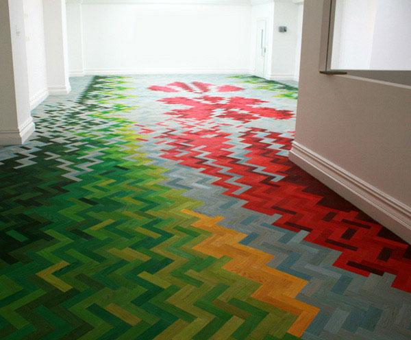 Innovative Installation Of Oiled Oak Interiorzine