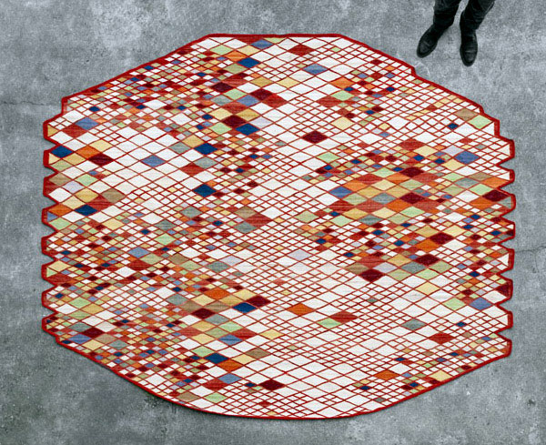 Bouroullec brothers for nanimarquina rug collection studio Bouroullec nanimarquina