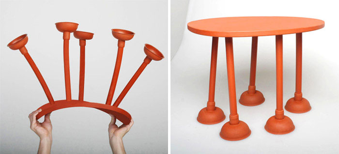 [D3] Design Talents rubber table by thomas schnur