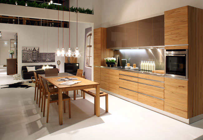 Solid Wood Design in Motion solid wood design kitchen