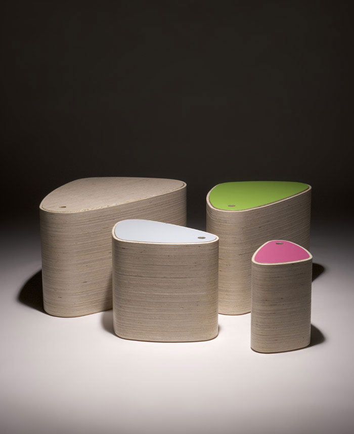 Punkalive  in IMM Cologne Furniture Fair stool storage box