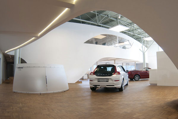 Car Showroom - InteriorZine