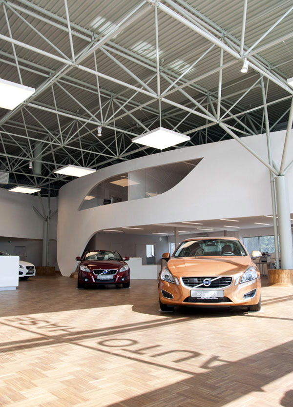 Car Showroom volvo motor showroom3