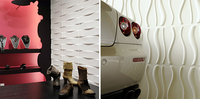 Eco Friendly 3d Wall Panels Interiorzine