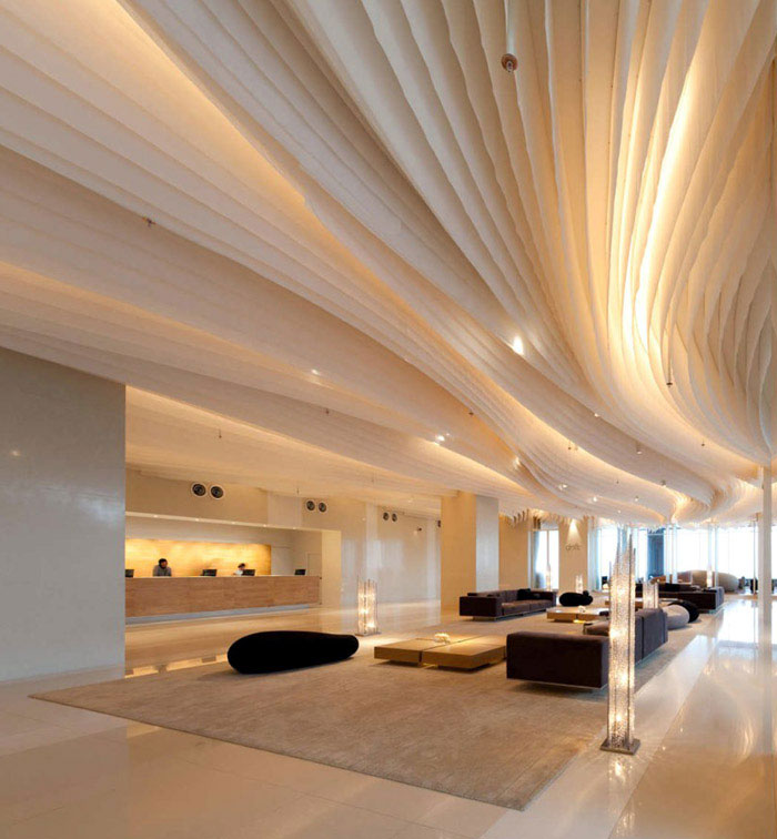 amazing interior design at hilton pattaya hotel interiorzine