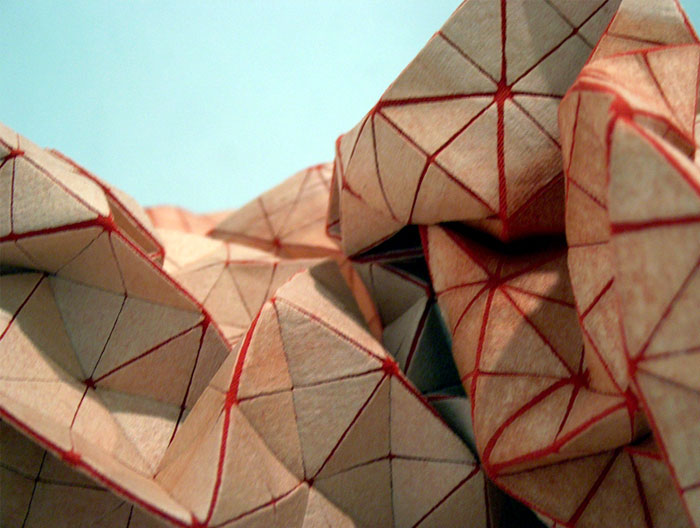 Series of Three Dimensional Textiles interior textile