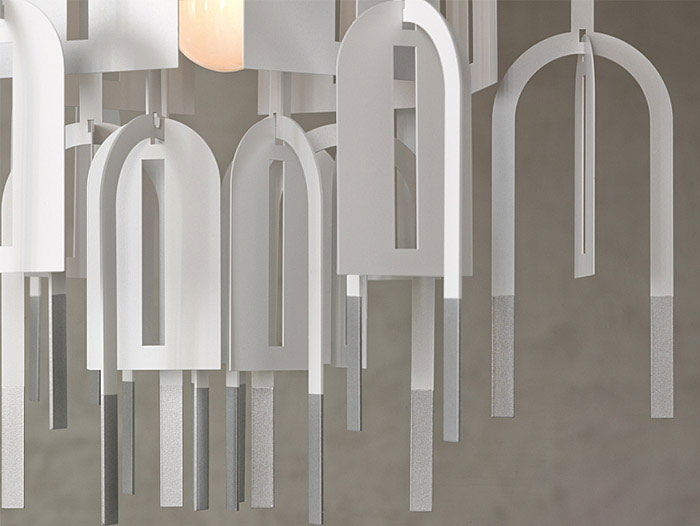 Waterfall Shape Pendant Lamp modern pendant lamp