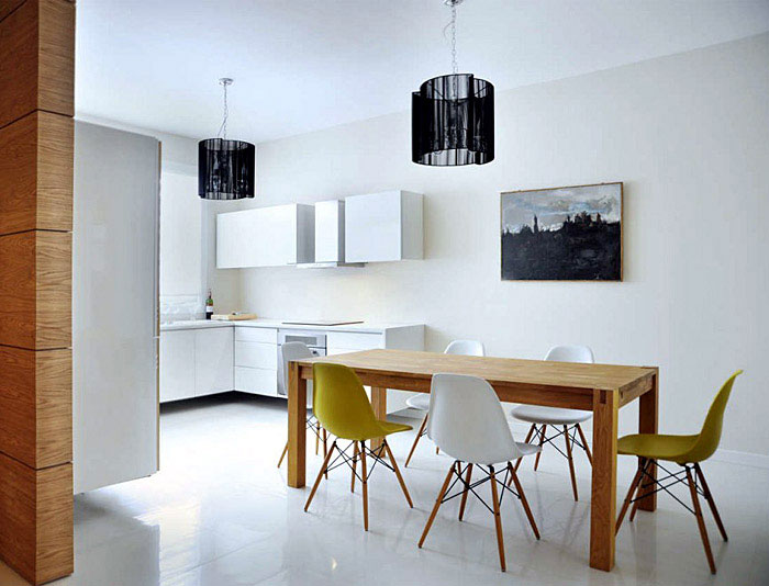 Modern White Interior modern white kitchen interior