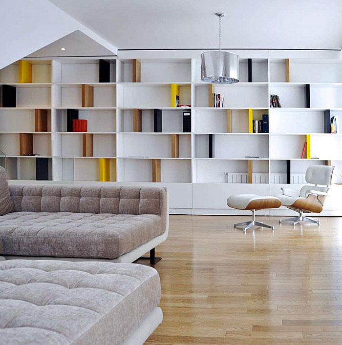 Modern White Interior modern white livingroom interior