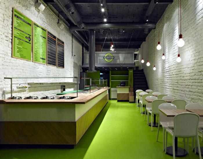 Saladstation Interiorzine