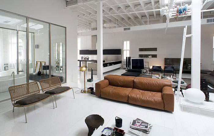 Loft or Showroom? contemporary lifestyle interior livingroom