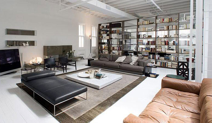 Loft or Showroom? contemporary lifestyle loft