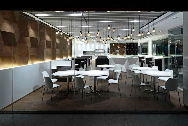 Trendy and Fashionable Restaurant fast food restaurant design1