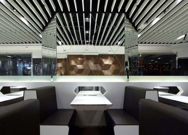 Trendy and Fashionable Restaurant fast food restaurant design2