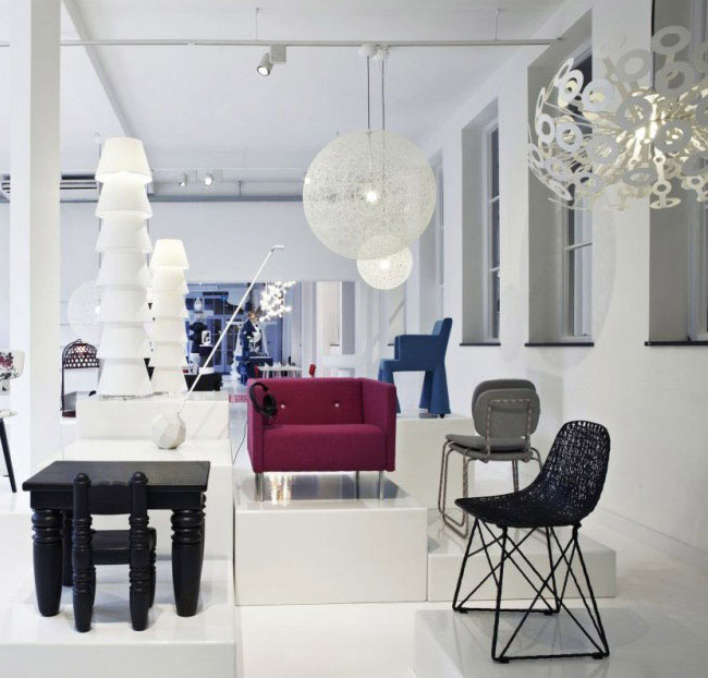 Glorious Space of Moooi Gallery  interior design trends moooi furniture