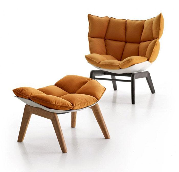 Husk Armchair unique versatile armchair