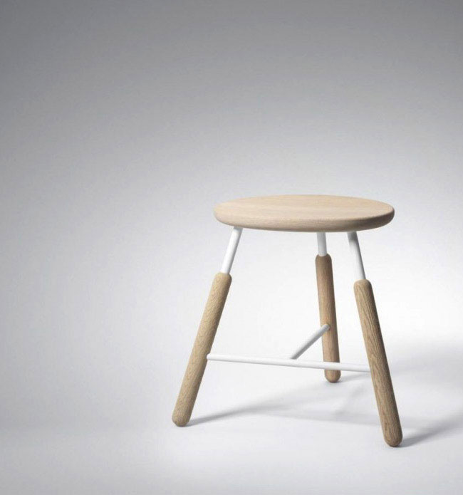 Raft Table and Raft stools  contemporary scandinavian ap
