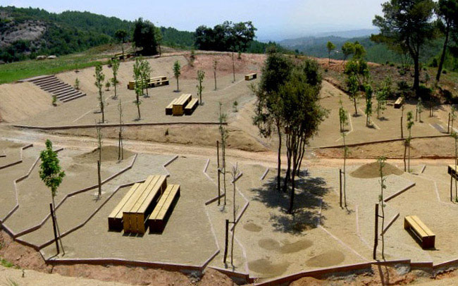 Nature Leisure Area in Montserrat landscape architecture park1